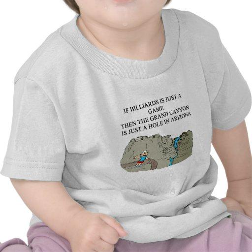 BILLIARDS pool player T Shirt