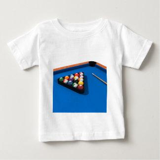 Billiards / Pool Table: Blue Felt: Baby T-Shirt