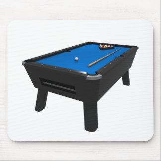 Billiards / Pool Table: Blue Felt: Mouse Pad