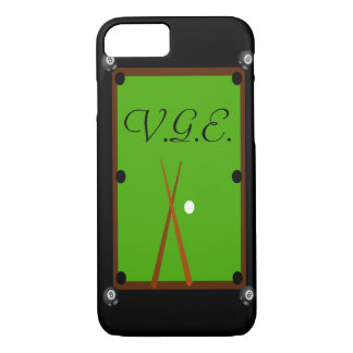 Billiards Pool Table iPhone 8/7 Case