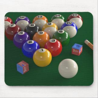 Billiards Pool Table Mousepad