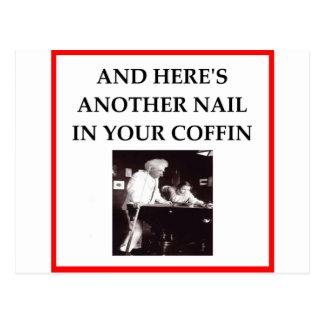 billiards post card