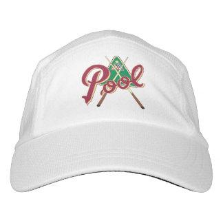 Billiards Rack for Eight Ball apparel. Hat