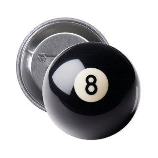 Billiards Snooker 8-Ball Button