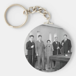 Billiards Stars: 1927 Keychain