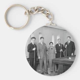 Billiards Stars: 1927 Keychain