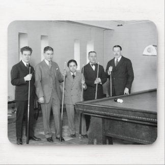 Billiards Stars: 1927 Mouse Pad
