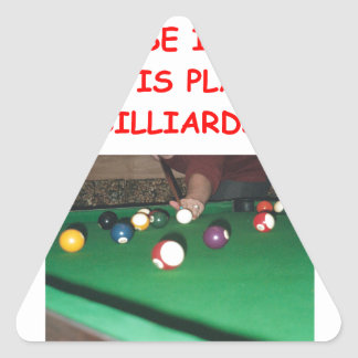 BILLIARDS TRIANGLE STICKERS