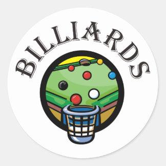 Billiards Stickers