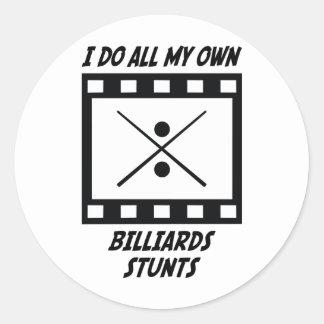 Billiards Stunts Stickers