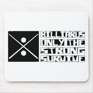 Billiards Survive Mouse Pad