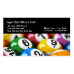 Billiards Theme Business Cards