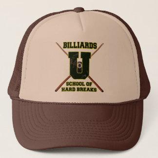 Billiards U School of Hard Breaks Trucker Hat
