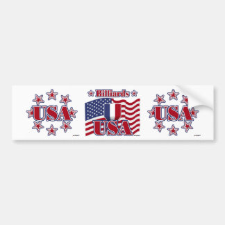 Billiards USA Bumper Sticker