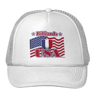 Billiards USA Mesh Hats