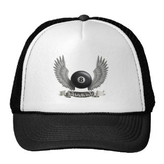 Billiards wings B Trucker Hat