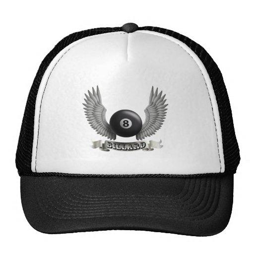 Billiards wings B Trucker Hat
