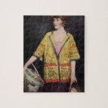 Billie Burke 1919 Silent film actress Puzzle