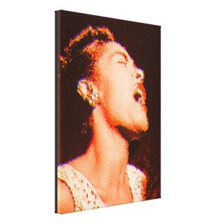 Billie Tribute Canvas Print