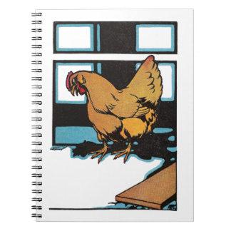 Billina the Yellow Hen Spiral Notebook