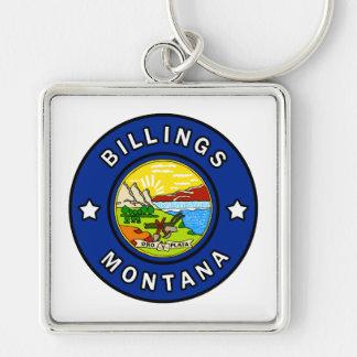 Billings Montana Keychain