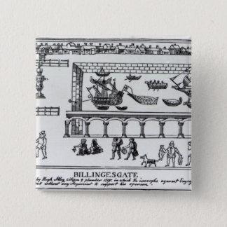 Billingsgate Market Pinback Button