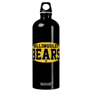 Billingsley High School; Bears Aluminum Water Bottle
