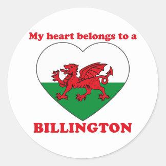 Billington Etiquetas