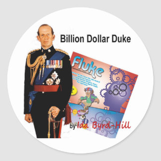 Billion Dollar Duke Classic Round Sticker