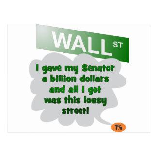 Billion Dollar Street 99% Postcard