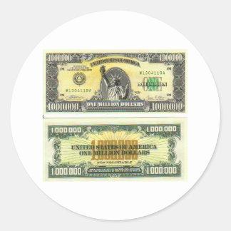 Billion Dollar Woman Sticker