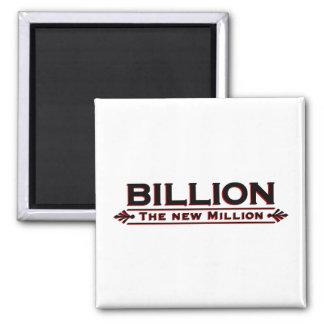 Billion The New Million 2 Inch Square Magnet