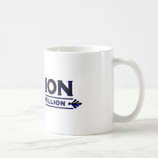 Billion The New Million (Black and Blue) Coffee Mug