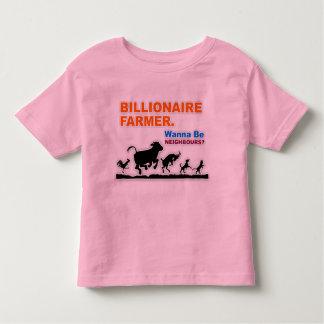 """""""Billionaire Farmer"""" Toddler T-Shirt"""
