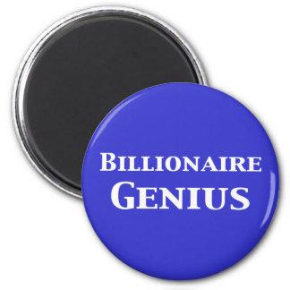 Billionaire Genius Gifts Magnet