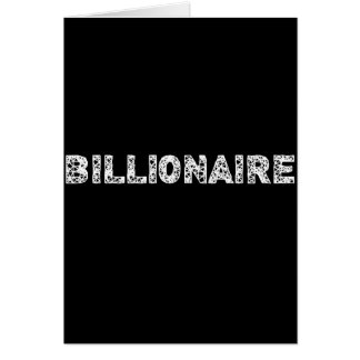 BILLIONAIRE - wowpeer Card