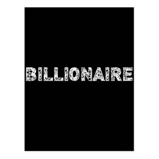 BILLIONAIRE - wowpeer Postcard