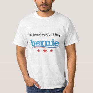 Billionaires Can't Buy Bernie t-shirt