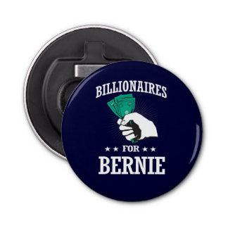 BILLIONAIRES FOR BERNIE SANDERS BOTTLE OPENER