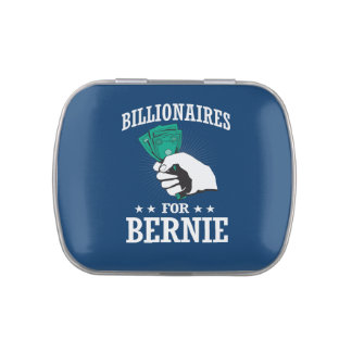 BILLIONAIRES FOR BERNIE SANDERS JELLY BELLY CANDY TIN