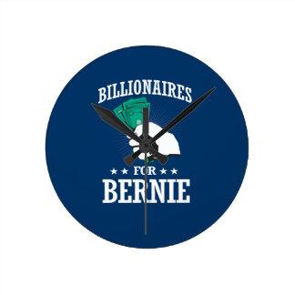 BILLIONAIRES FOR BERNIE SANDERS ROUND CLOCK