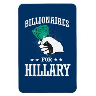 BILLIONAIRES FOR HILLARY MAGNET