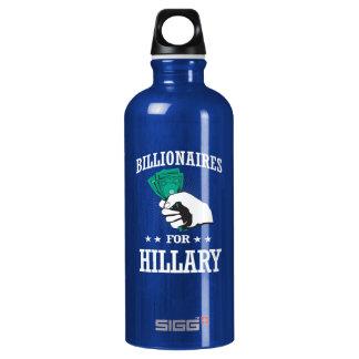 BILLIONAIRES FOR HILLARY WATER BOTTLE