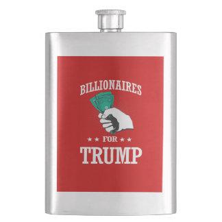 BILLIONAIRES FOR TRUMP HIP FLASK