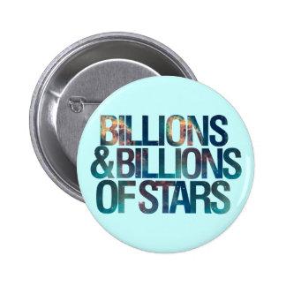 Billions and Billions of Stars 2 Inch Round Button