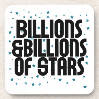 Billions and Billions of Stars Beverage Coaster