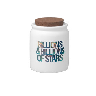 Billions and Billions of Stars Candy Jar
