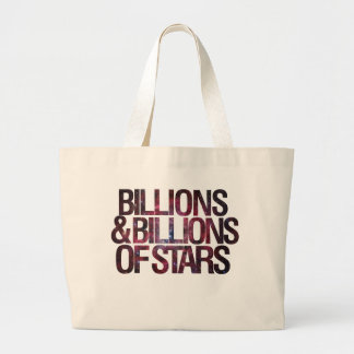 Billions and Billions of Stars Canvas Bags