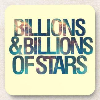 Billions and Billions of Stars Drink Coaster
