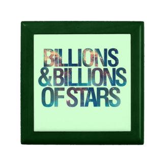 Billions and Billions of Stars Jewelry Box